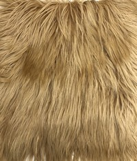 Пластина из меха яка блонд