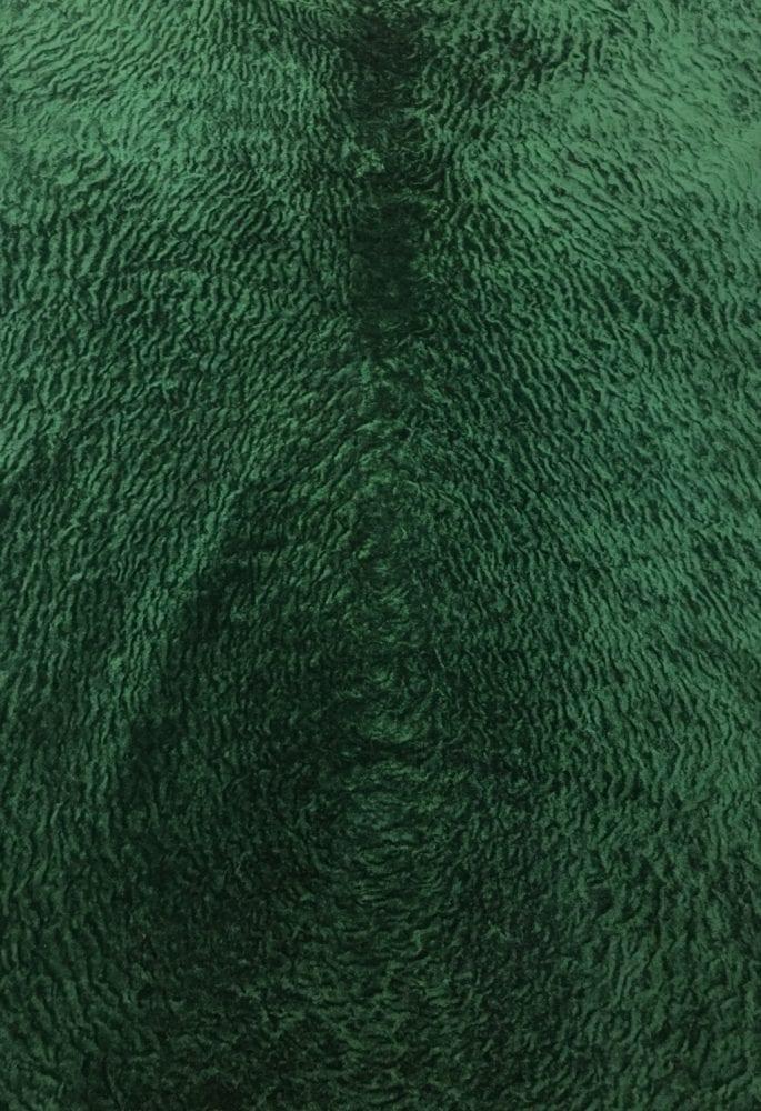 Астраган глубокий зелёный