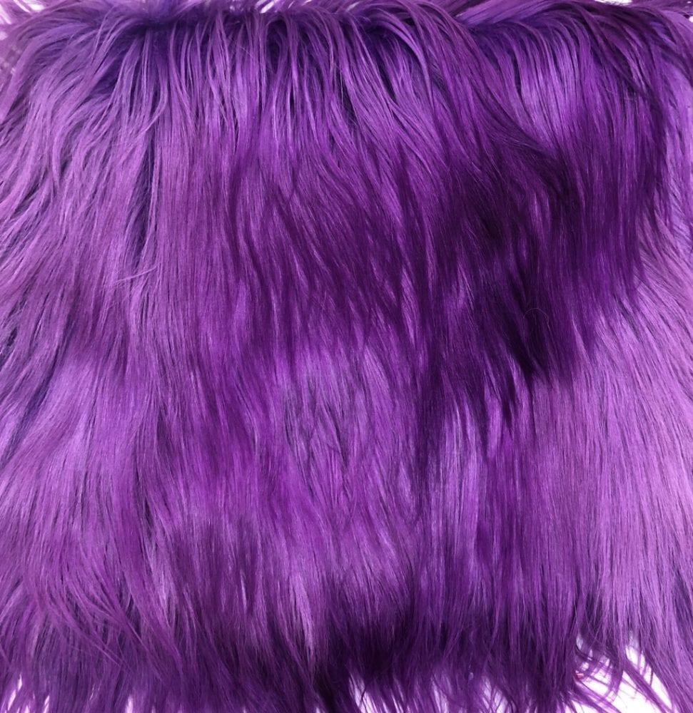 Пластина из меха яка фиолетовый