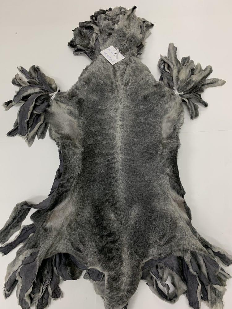Каракуль серый натуральный