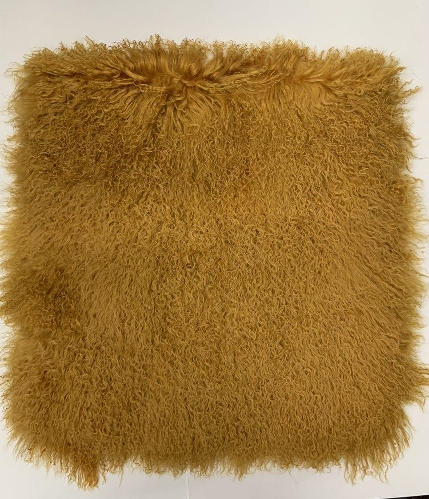 Пластина ламы коричневая