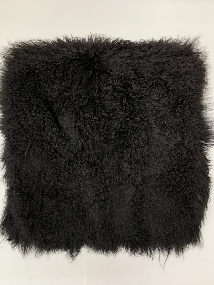 Пластина ламы чёрная