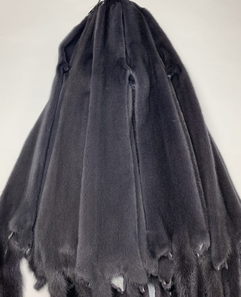 Мех норки цвет рафит