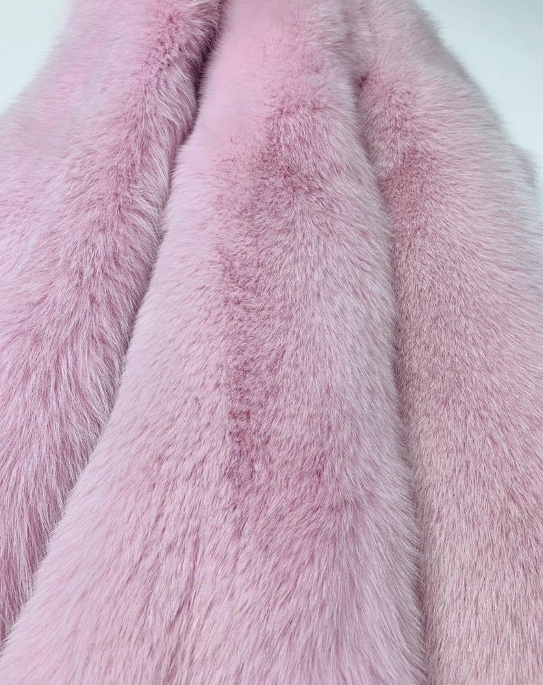 Песец розовый