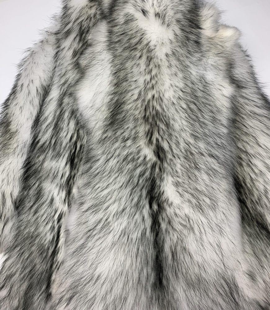 Мех енотовидной собаки серый