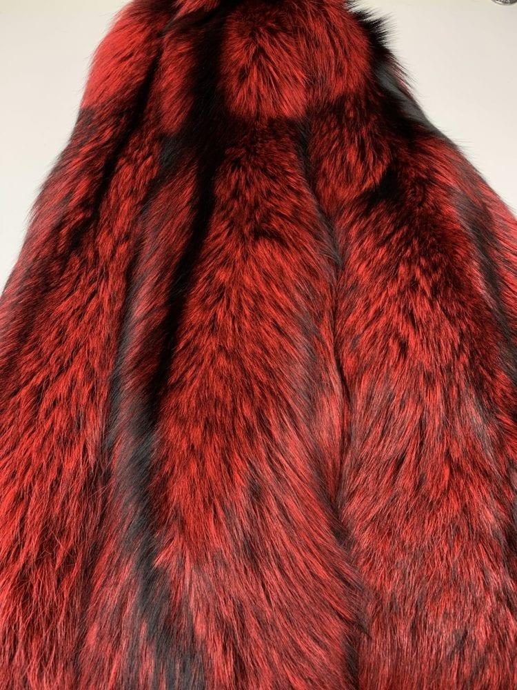Шкурки лисы красные