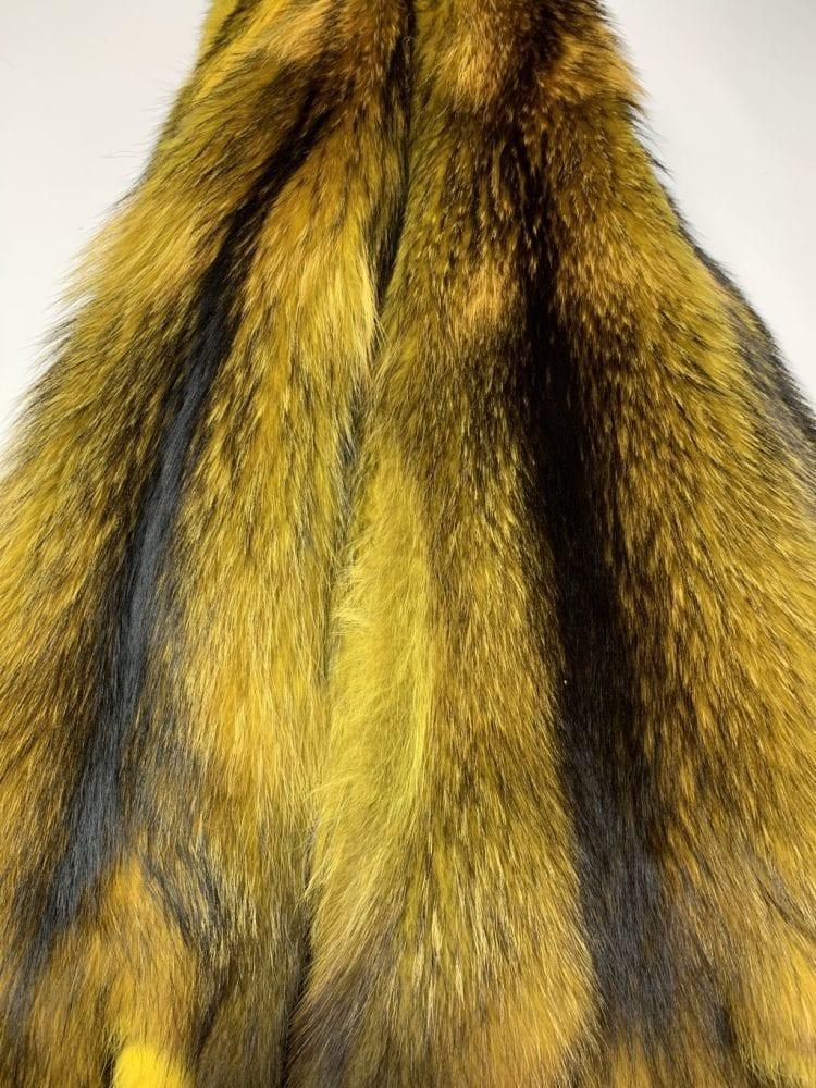 Мех енотовидной собаки (жёлтый)