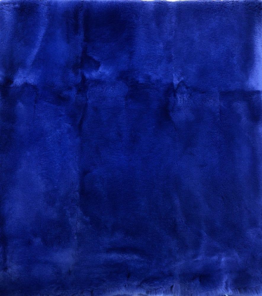 Пластина кролика цвет Синий