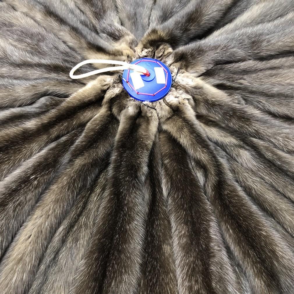 Шкура соболя с сединой баргузинский размер XL