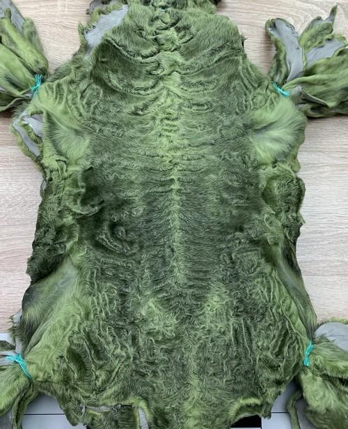 Каракуль зеленый